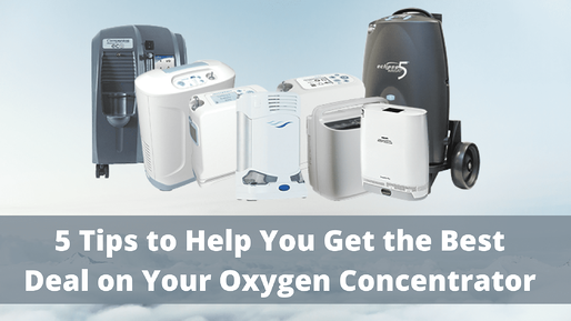 5 Tips to Help You Get the Best Deal on Your Oxygen Concentrator