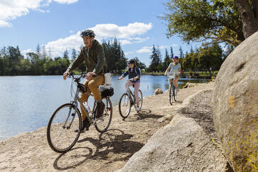 Biking with the Caire FreeStyle Comfort
