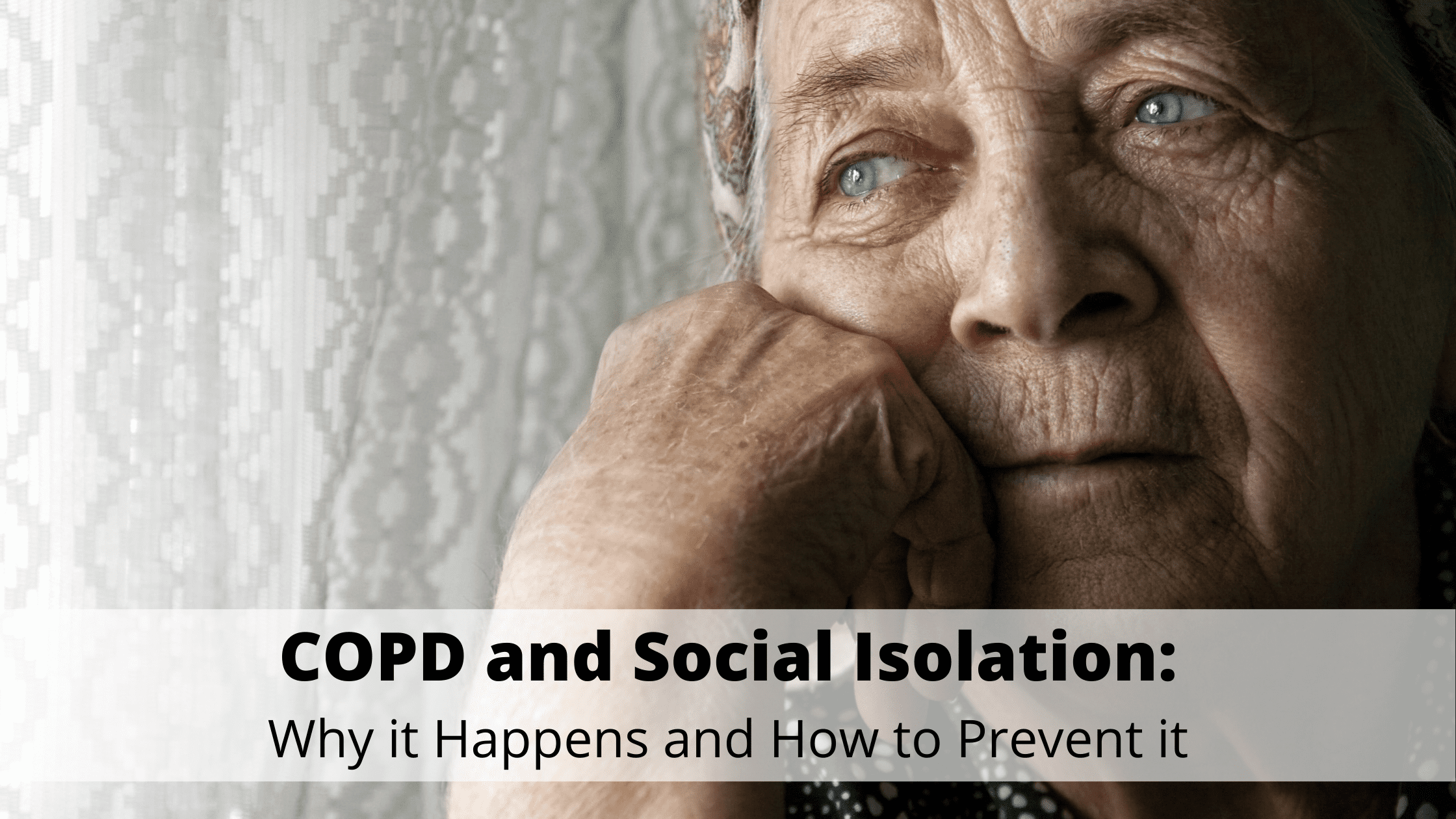 COPD and Social Isolation