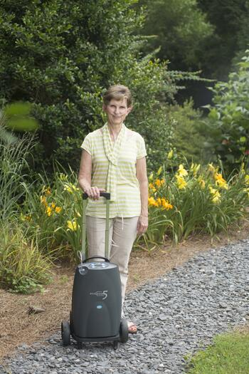 Eclipse 5 with woman on a path