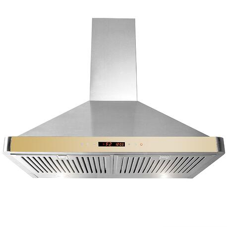 Golden-Vantage-30&quot-Wall-Mount-Range-Hood-GV-63175D-GLD-Stainless-Steel-Golden-Vent-Hood-W_-Touch-Control-Panel-N4