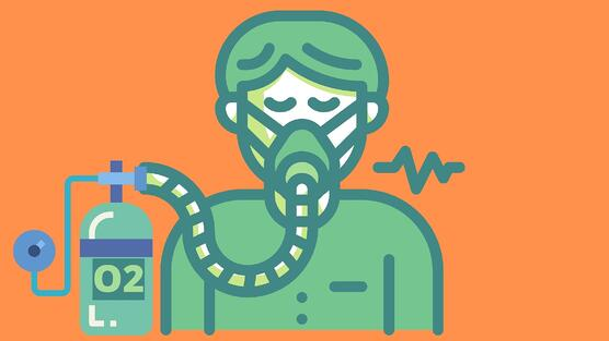 Oxygen face mask