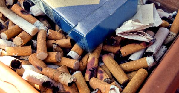 cigarettepile