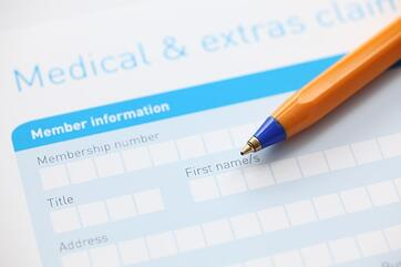 Request for Medical Payment form
