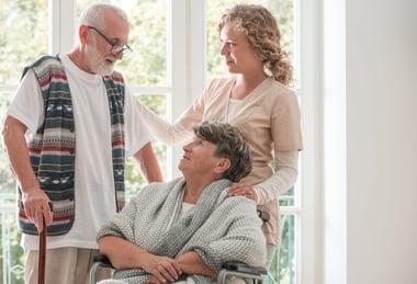 COPD patient and friend