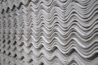 Asbestos in housing materials.