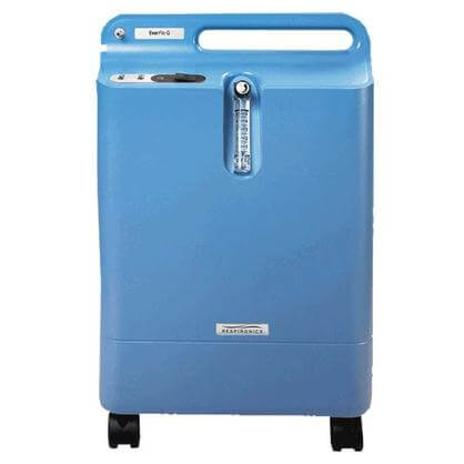Home oxygen concentrator unit