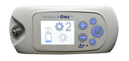 Inogen One G5 interface