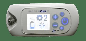 Inogen One G5 interface