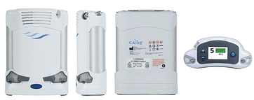 Portable oxygen concentrator