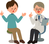 Patient and doctor