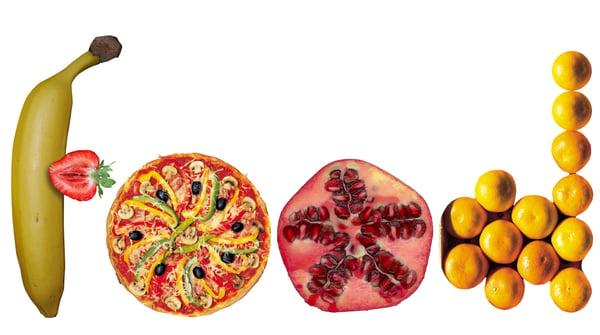 Arrangement of fruits