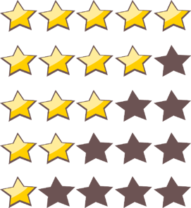 Star ratings (illustration).