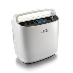 Respironics SimplyGo portable oxygen concentrator.