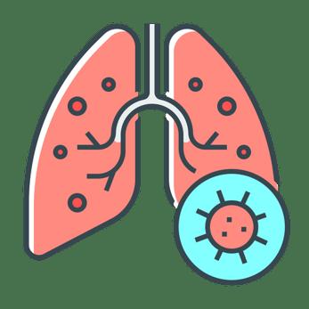 virus-in-lungs