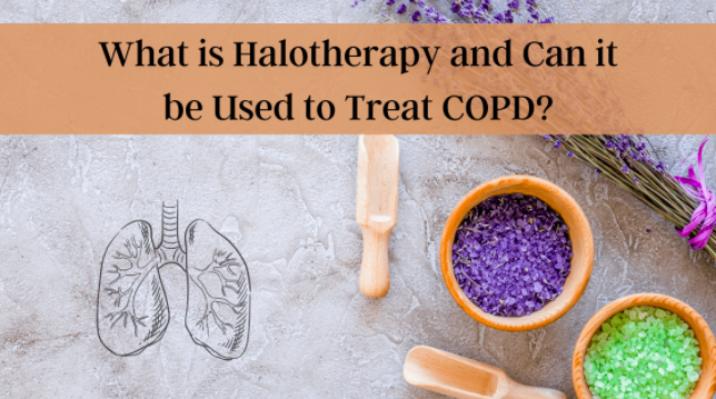 What is Halotherapy and can it be used to treat COPD